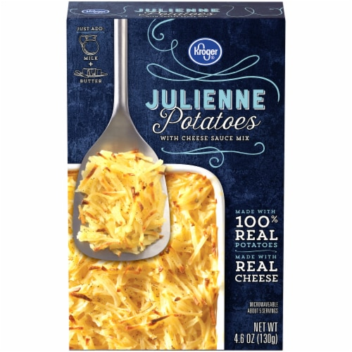 Kroger® Julienne Potatoes with Cheese Sauce Mix Perspective: front