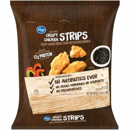 Kroger® Crispy Chicken Strips Perspective: front