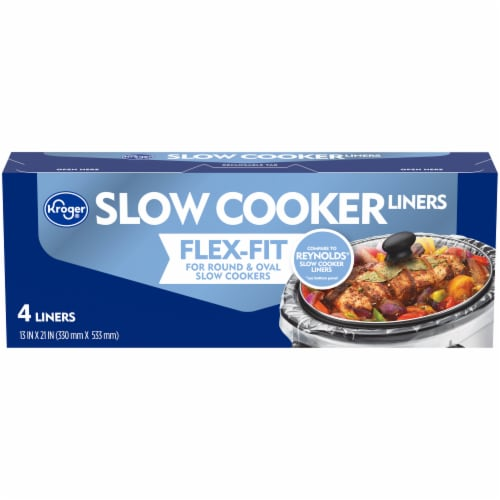Kroger® Slow Cooker Liners Perspective: front