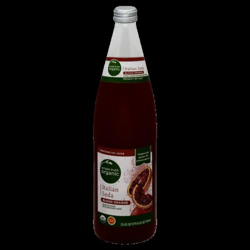 Simple Truth Organic™ Blood Orange Italian Soda Perspective: front