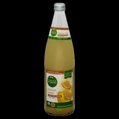 Simple Truth Organic™ Sicilian Lemon Italian Soda Perspective: front