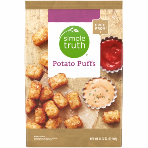 Simple Truth™ Potato Puffs Perspective: front