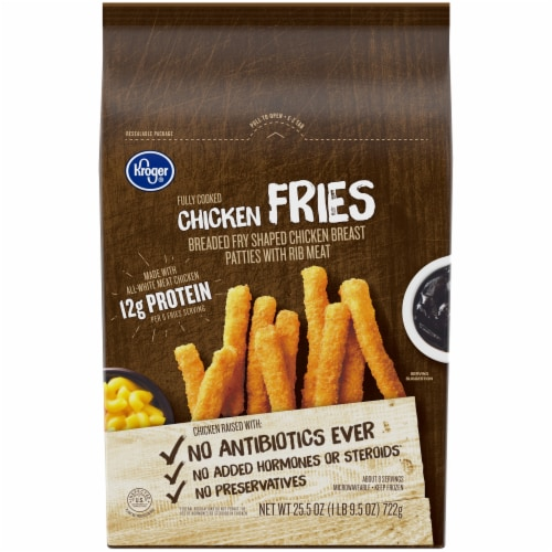 Kroger® Chicken Fries Perspective: front