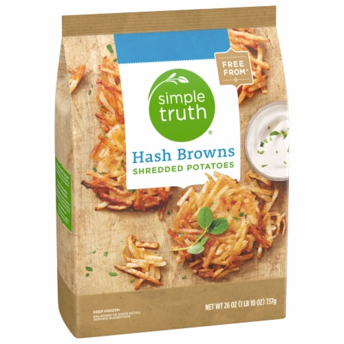 Simple Truth® Shredded Hash Brown Potatoes Perspective: front