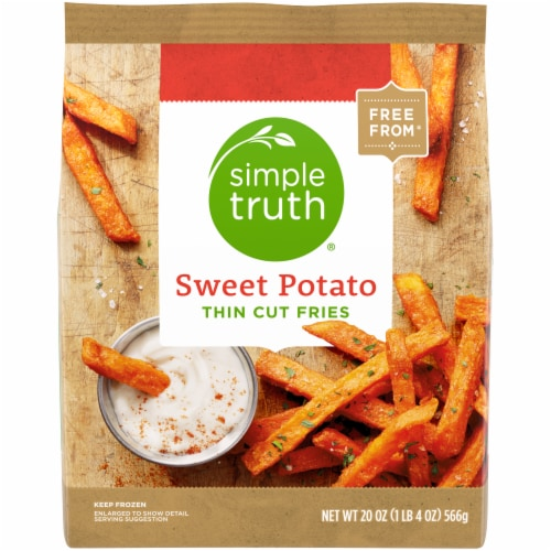 Simple Truth® Thin Cut Sweet Potato Fries Perspective: front