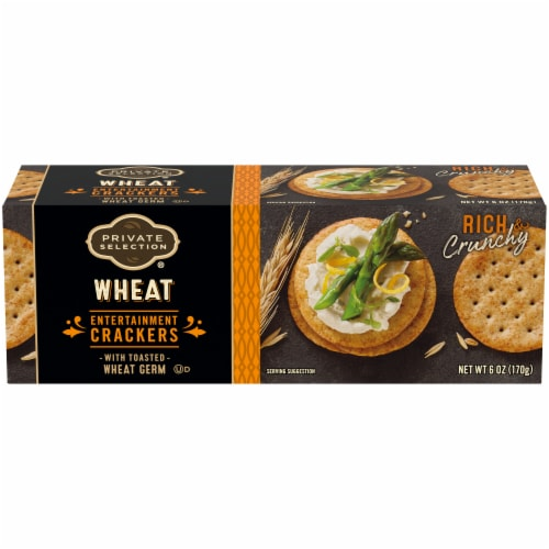 Private Selection® Wheat Entertainment Crackers Perspective: front
