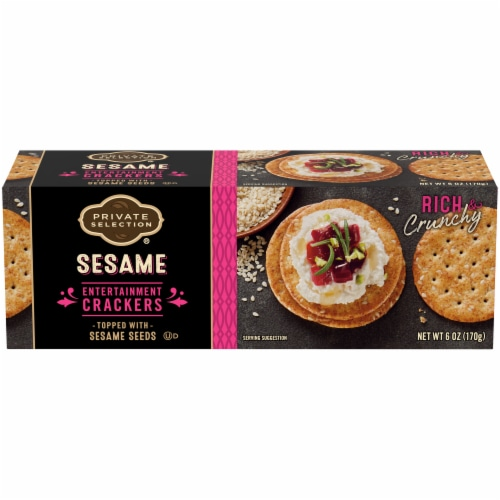 Private Selection® Sesame Entertainment Crackers Perspective: front
