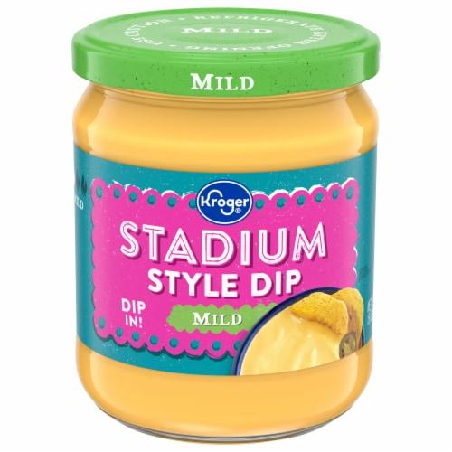 Kroger® Stadium Style Mild Cheddar Dip Perspective: front