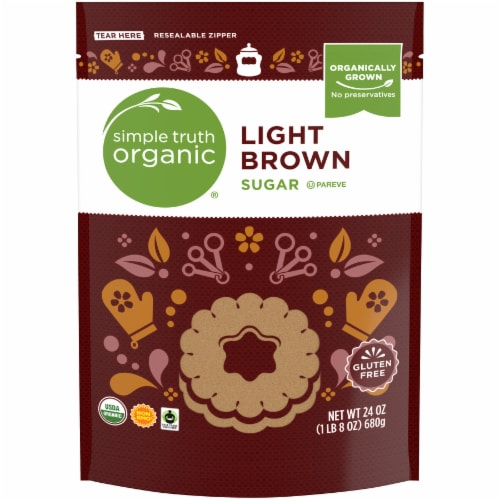 Simple Truth Organic® Light Brown Sugar Perspective: front
