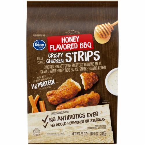 Kroger® Honey Flavored BBQ Crispy Chicken Strips Perspective: front
