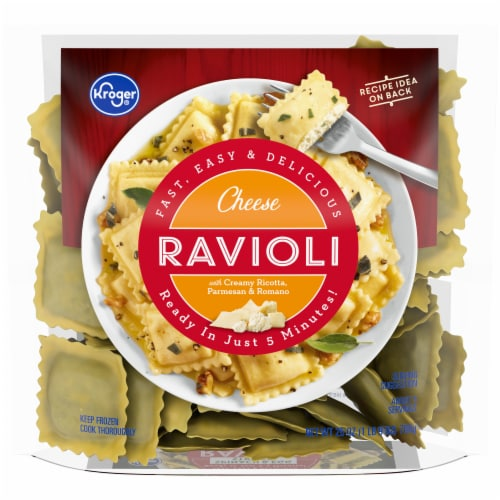 Kroger® Frozen Cheese Ravioli Perspective: front