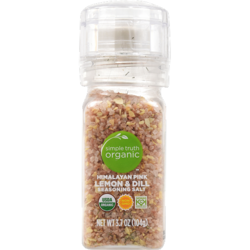 Simple Truth Organic™ Himalayan Pink Zesty Lemon and Dill Grinder Perspective: front