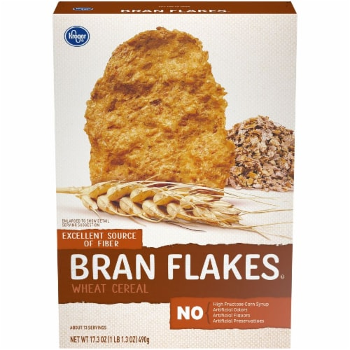 Kroger - Kroger® Bran Flakes Cereal, 17