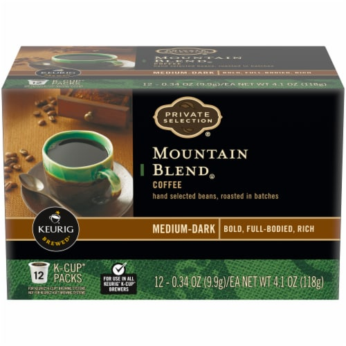 Private Selection® Mountain Blend Coffee K-Cup Pods Perspective: front