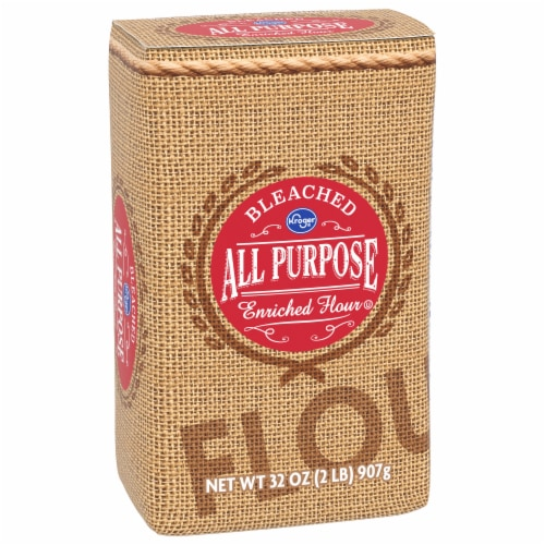 Kroger® Bleached All Purpose Enriched Flour Perspective: front