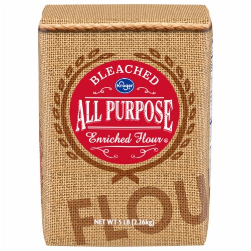 Kroger® Bleached All Purpose Enriched Flour Perspective: front