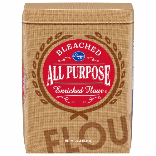 Kroger® Bleached All-Purpose Enriched Flour Perspective: front