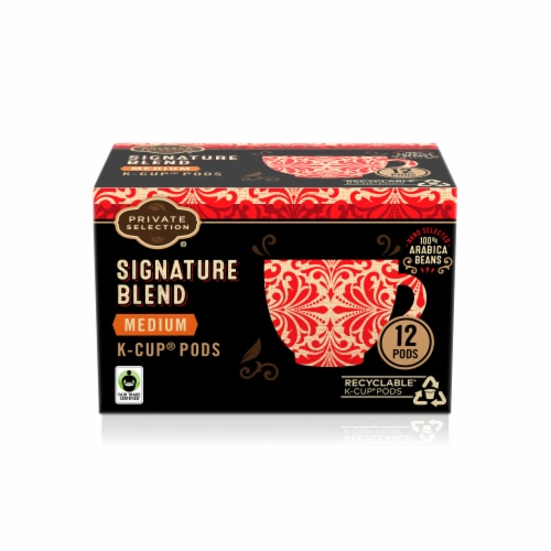 Private Selection™ Signature Blend Medium Roast Coffee K-Cup Pods Perspective: front