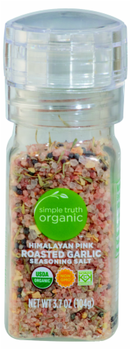 Simple Truth Organic™ Himalayan Pink Roasted Garlic Seasoning Salt Perspective: front