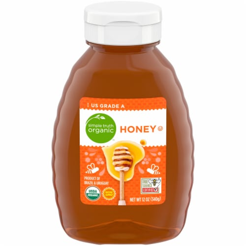 Simple Truth Organic™ Honey Perspective: front