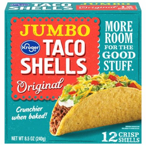 Kroger® Jumbo Original Taco Shells Perspective: front