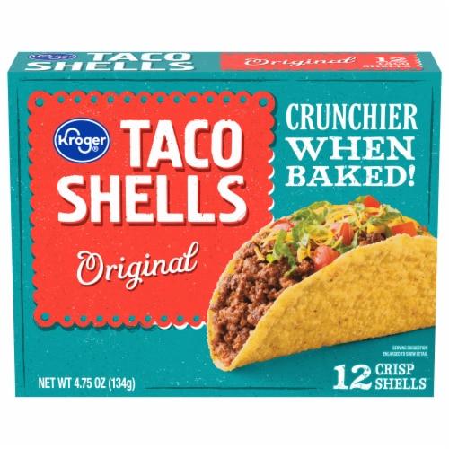 Kroger® Original Crisp Taco Shells Perspective: front