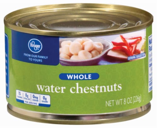 Kroger® Whole Water Chestnuts Perspective: front