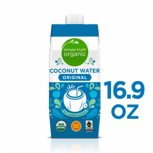 Simple Truth Organic™ Original Coconut Water Perspective: front