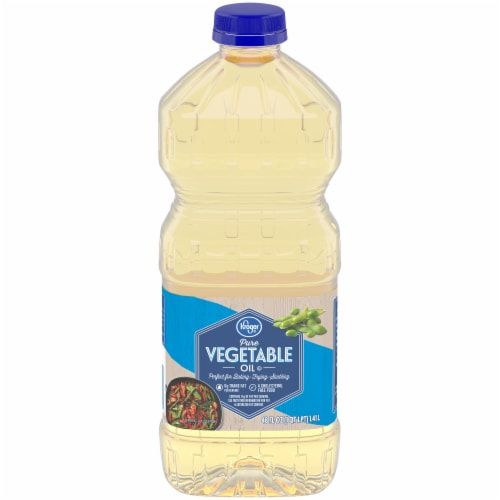 Kroger® Pure Vegetable Oil Perspective: front