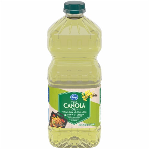Kroger® Pure Canola Oil Perspective: front