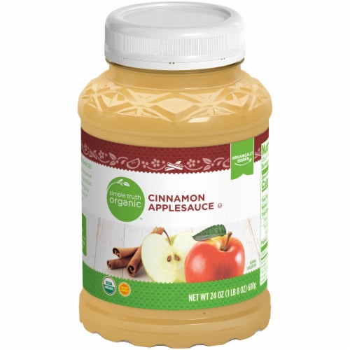 Simple Truth Organic™ Cinnamon Applesauce Perspective: front