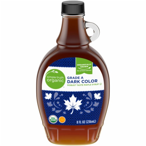 Simple Truth Organic™ Grade A Dark Color Robust Maple Syrup Perspective: front