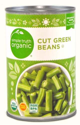 Simple Truth Organic™ Cut Green Beans Perspective: front