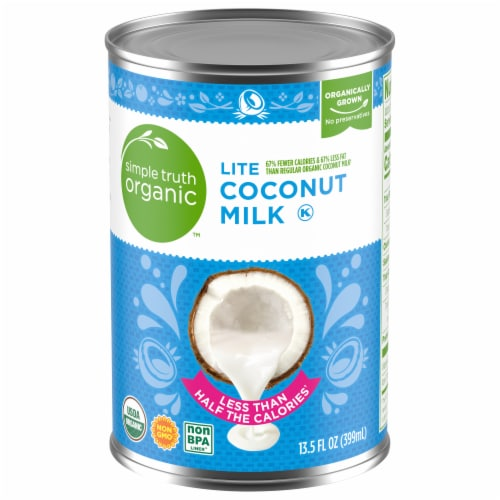Simple Truth Organic™ Light Coconut Milk Perspective: front