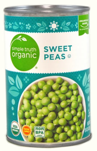 Simple Truth Organic® Sweet Peas Perspective: front