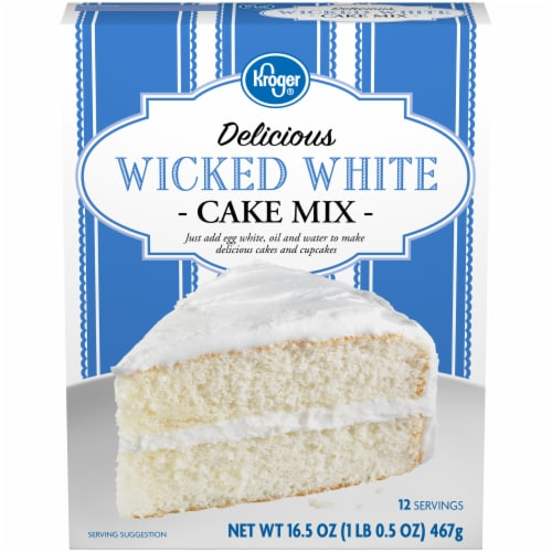 Kroger® Delicious Wicked White Cake Mix Perspective: front