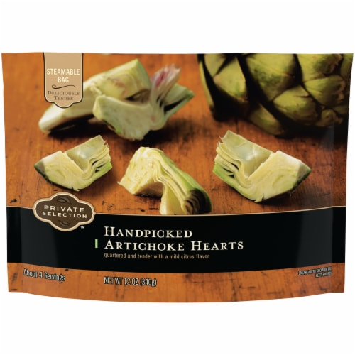 Private Selection™ Handpicked Artichoke Hearts Perspective: front