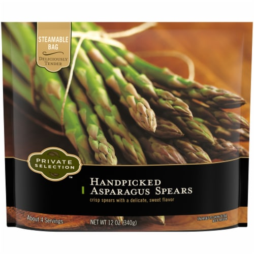 Private Selection™ Handpicked Asparagus Spears Perspective: front