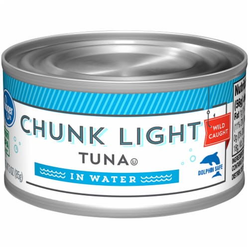Kroger® Chunk Light Tuna in Water Perspective: front