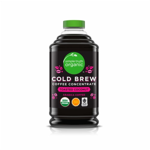 Simple Truth Organic™ Toasted Coconut Cold Brew Coffee Concentrate Perspective: front