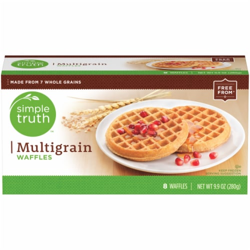 Simple Truth™ Multigrain Waffles Perspective: front