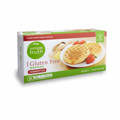 Simple Truth™ Gluten Free Homestyle Waffles Perspective: front