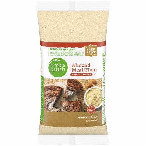 Simple Truth™ Finely Ground Almond Meal/Flour Perspective: front