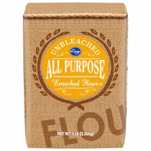 Kroger® Unbleached All Purpose Enriched Flour Perspective: front
