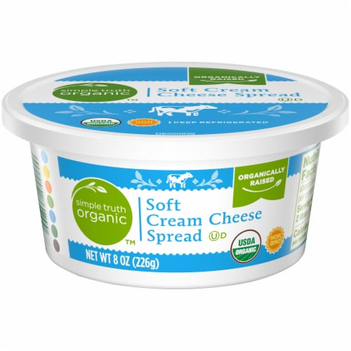 Simple Truth Organic™ Soft Cream Cheese Spread Perspective: front