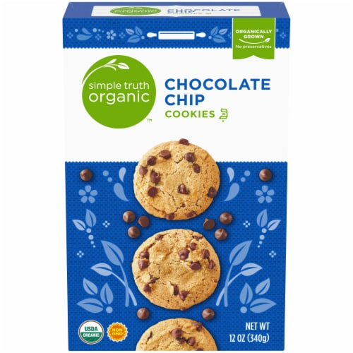 Simple Truth Organic™ Chocolate Chip Cookies Perspective: front