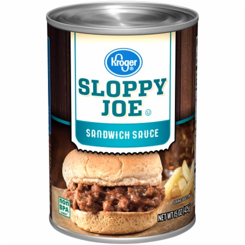 Kroger® Sloppy Joe Sandwich Sauce Perspective: front