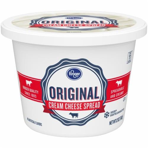Kroger® Original Cream Cheese Spread Perspective: front