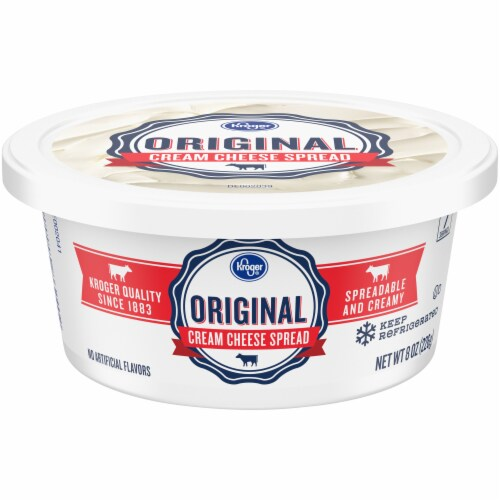 Kroger® Original Cream Cheese Spread Perspective: front