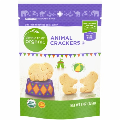 Simple Truth Organic™ Animal Crackers Perspective: front